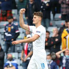 'Holy Schick': Czech Republic player scores wonder goal at Euro 2020 in win against Scotland