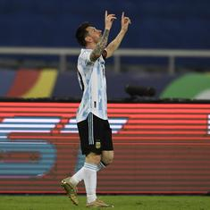 Watch: Lionel Messi lights up Copa America with a direct freekick into the top corner