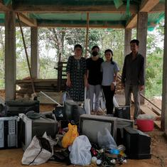 Two young women in Nagaland are on a crusade against e-waste