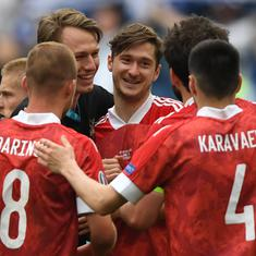 Euro 2020: Aleksei Miranchuk's strike helps Russia revive knockout hopes with win over Finland
