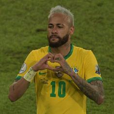 Copa America: Neymar shines as hosts Brazil thump Peru to reach quarter-finals