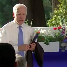 'You're in the wrong business': US President Joe Biden snaps at CNN reporter, apologises