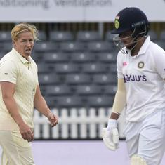 England vs India Test, day 3 highlights: Shafali Verma shines after follow on but rain curtails play