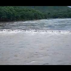 Watch: Water level of Jagbudi River in Maharashtra crosses danger mark