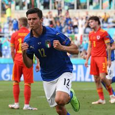 Euro 2020: Matteo Pessina seals top spot for Italy as beaten Wales advance to last 16