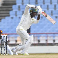 Second Test: Van der Dussen and Rabada save South Africa from collapse, set West Indies big target