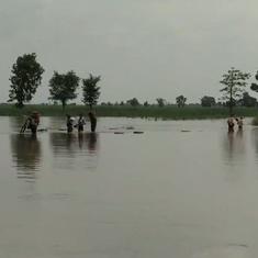 Watch: Floods are raging across various parts of Bihar after heavy rain