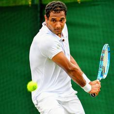 Indian tennis: Ramkumar starts with win, Prajnesh, Ankita out of Wimbledon qualifiers