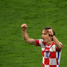 Watch: Luka Modric strikes wonder goal, becomes oldest and youngest Croatian to score at Euros