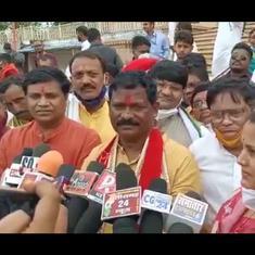'Didn't hear your question': Chhattisgarh minister Amarjeet Bhagat evades question on alcohol