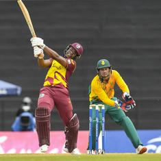 First T20I: Even Lewis blasts West Indies to eight-wicket win over South Africa