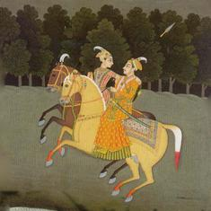 This book imagines the life of Queen Ruupmati of Malwa, in (supposedly) her own words