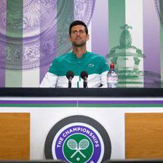 Wimbledon: Stefanos Tsitsipas hails Novak Djokovic as 'one of the greatest players tennis has seen'