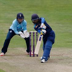 India's Mithali Raj goes past Charlotte Edwards for most runs by a woman in international cricket