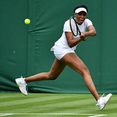 Wimbledon, day 2 women's roundup: Serena retires hurt in tears, Venus wins on 90th Major appearance