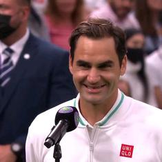 Watch: 'My English isn't good enough' – Federer's cheeky interview after Wimbledon first round win