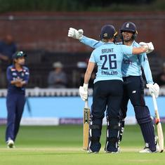 England vs India, 2nd ODI: Kate Cross, Sophia Dunkley star as hosts win by 5 wickets to seal series