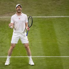 What a fighter, tennis missed you: Reactions to Andy Murray's five-set second round win at Wimbledon