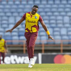 Fourth T20I: Dwayne Bravo's career-best spell takes Windies to series-leveling win over South Africa