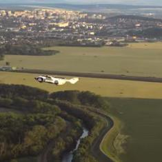 Watch: Flying car completes first-ever intercity flight in 35 minutes, then drives out of airport