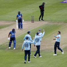 Third ODI: Rain prevents England's imminent clean sweep after Sri Lanka crumble again