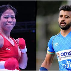 Tokyo Olympics: Mary Kom, Manpreet Singh to be India's flag-bearers for the opening ceremony
