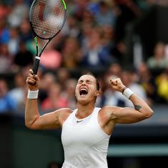 Wimbledon: Aryna Sabalenka, a Grand Slam singles semi-finalist at last, cracks the code in style