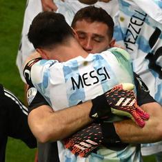 Watch: Sensational goalkeeping from Emiliano Martinez powers Argentina to Copa America final