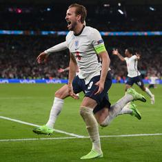 Euro 2020: Harry Kane nets extra time winner as England beat Denmark to set up final against Italy