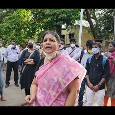 Watch: BR Ambedkar's granddaughter Rama Ambedkar demands release of all political prisoners