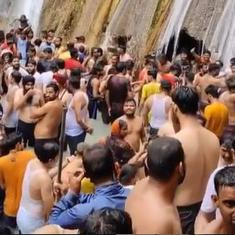 Tourists at Mussoorie's Kempty Falls limited to 50 after video shows Covid norms were violated