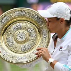 Watch: Champion Ash Barty, runner-up Karolina Pliskova's speeches and highlights of Wimbledon final