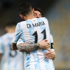 Watch: Angel Di Maria's goal in Copa America final helps Lionel Messi and Argentina end a long wait