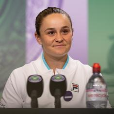 Watch: The stars aligned for me over the past fortnight, says Ash Barty after Wimbledon triumph