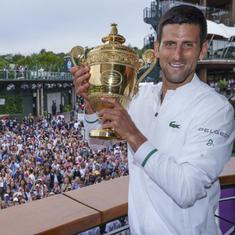 Make no mistake, the tennis world is dancing to Djokovic's tune