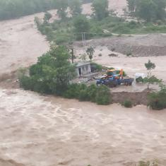 Over 10 feared trapped, many homes swept away in landslide at Himachal Pradesh's Kangra district