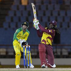 Third T20I: Chris Gayle half-century powers West Indies to series win against Australia