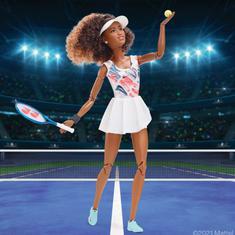 Watch: Tennis player Naomi Osaka is now a Barbie doll