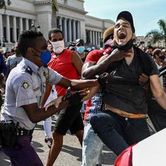 Why Cuba is witnessing a rare public outpouring of anger