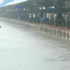 Watch: Mumbai streets are waterlogged again as heavy rain continues