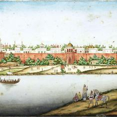 What was daily life like for royalty in the Red Fort? This book provides a fascinating commentary