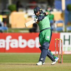 Ireland's Simi Singh becomes first ever cricketer to score an ODI century batting at No 8 or lower