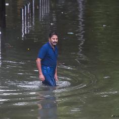 Mumbai rain: IMD issues red alert for 24 hours, waterlogging and traffic jams in parts of city