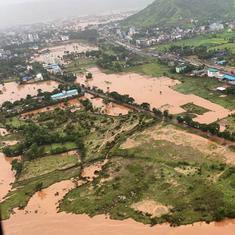 IMD forecasts heavy rainfall, landslides in Bihar, MP, Chhattisgarh, Gujarat and Goa till Thursday