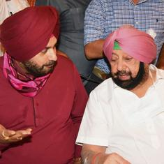 'Those who oppose me help me improve,' says Navjot Sidhu as he takes charge of Punjab Congress
