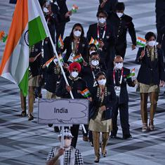 Watch: Mary Kom, Manpreet lead Indian contingent at Tokyo Olympics opening ceremony