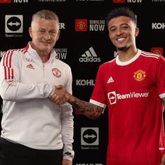 Premier League: Manchester United sign Jadon Sancho from Borussia Dortmund for $100 million