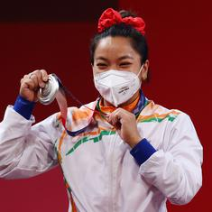 Watch: Weightlifter Saikhom Mirabai Chanu dedicates her Olympics silver medal to all Indians