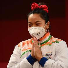 'India is elated': PM Modi, Rahul Gandhi praise Mirabai Chanu for winning silver at Tokyo Olympics