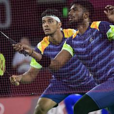 Thomas Cup badminton: Satwik-Chirag shine in thrilling doubles win but India blown away by Denmark